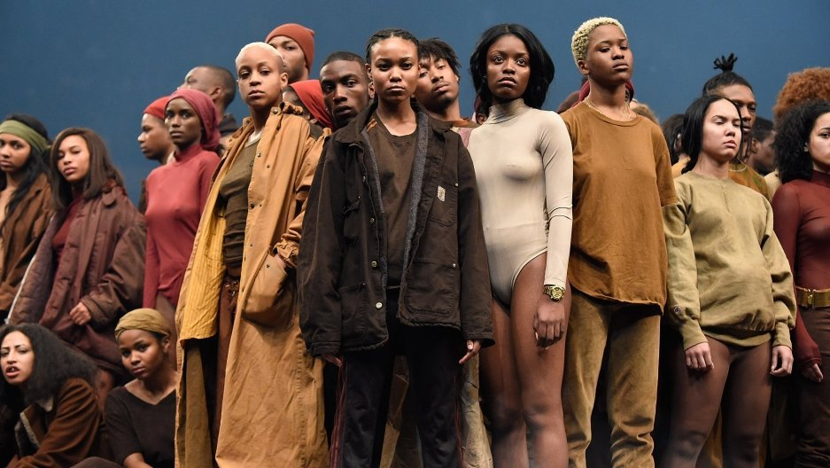 YEEZY Season 3 | Extras Dept. Head of Makeup & Hair: Jennifer Hanching