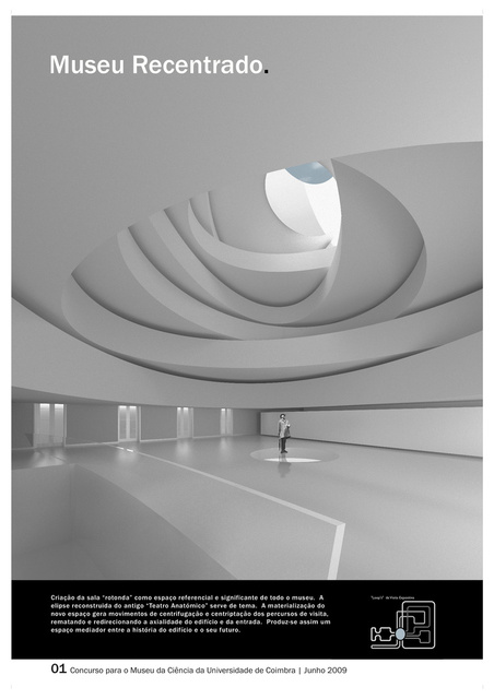 Universitary Science Museum - Competition - 1st prize | Coimbra, Portugal |