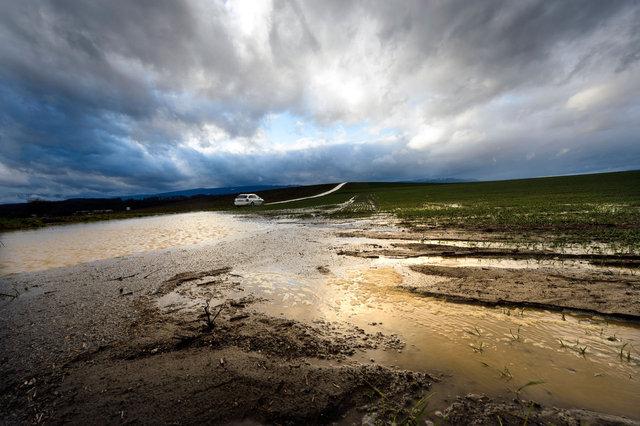 Inondations- Penthalaz - 2013