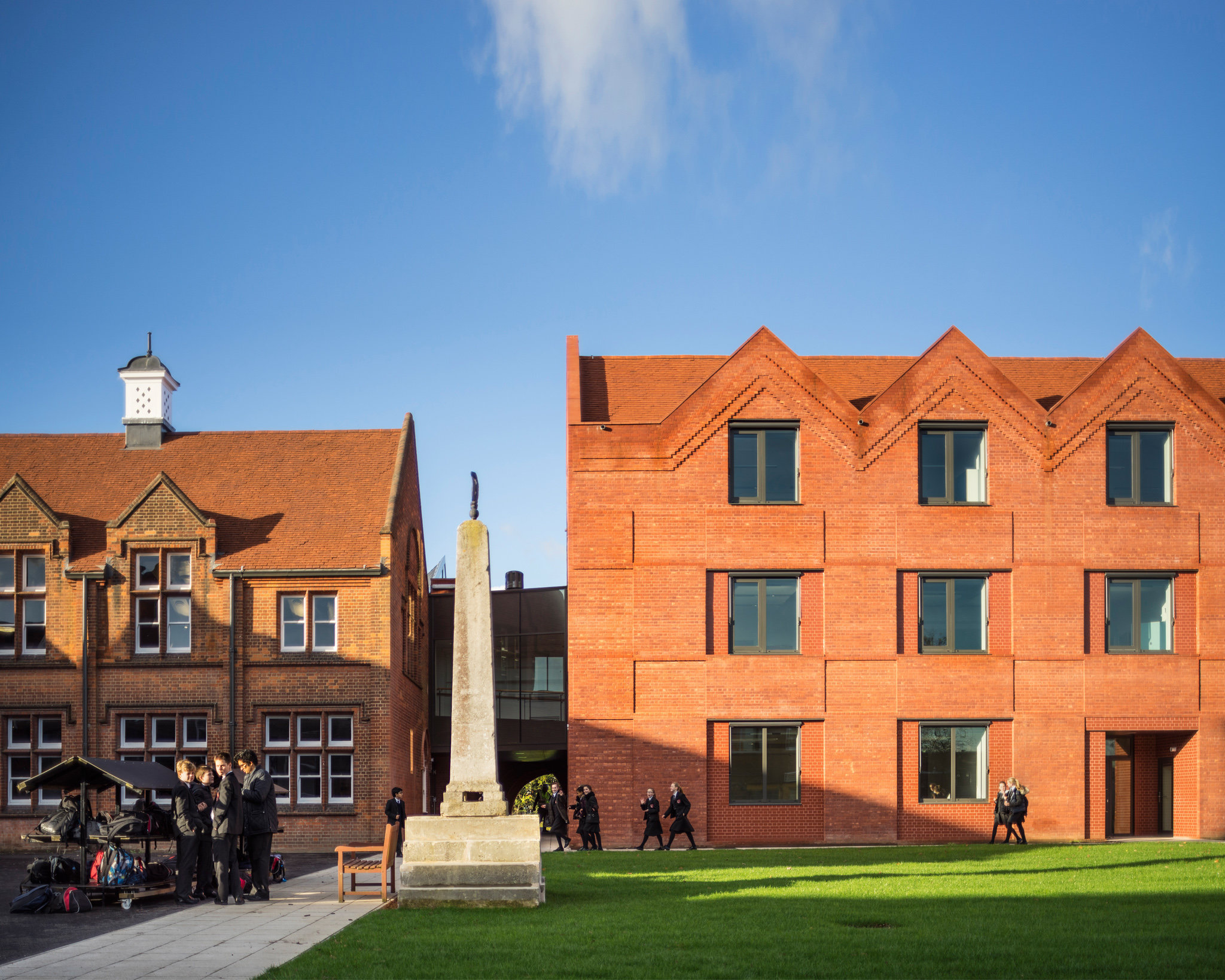Brentwood School. Cottrell and Vermeulen Architects