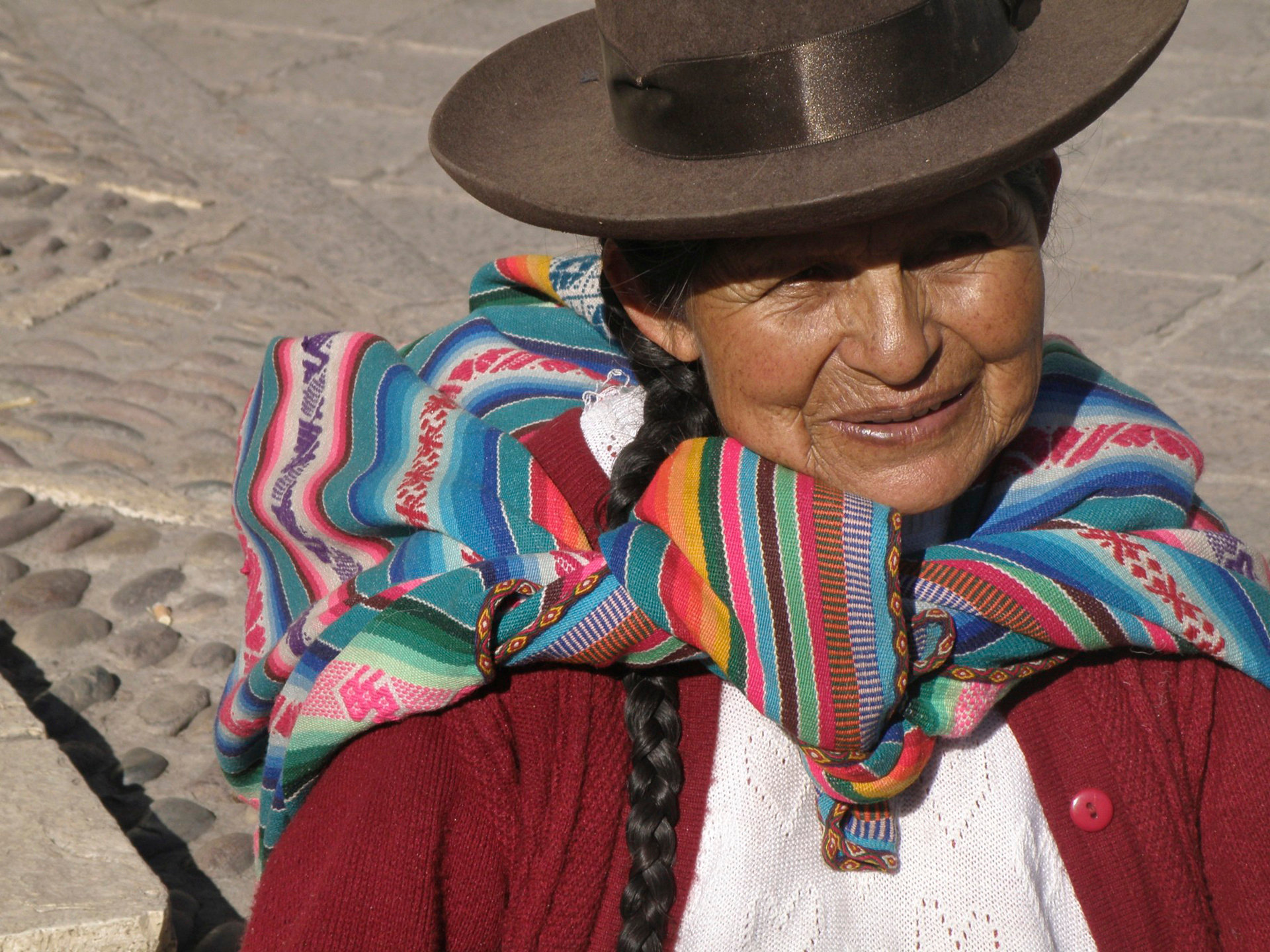 Cusco belt vendor