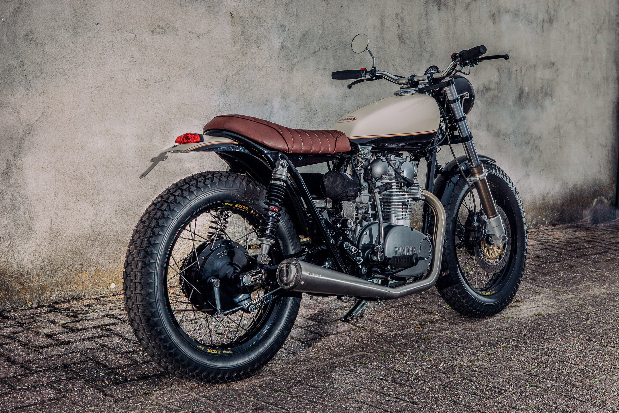 Motogadgets project Yamaha XS650