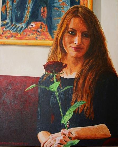Natalia 1 76x81 akryl płótno 2011 (wł. pryw.)