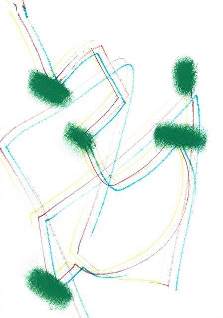Zonder Titel, 2014  21 x 29,7 cm