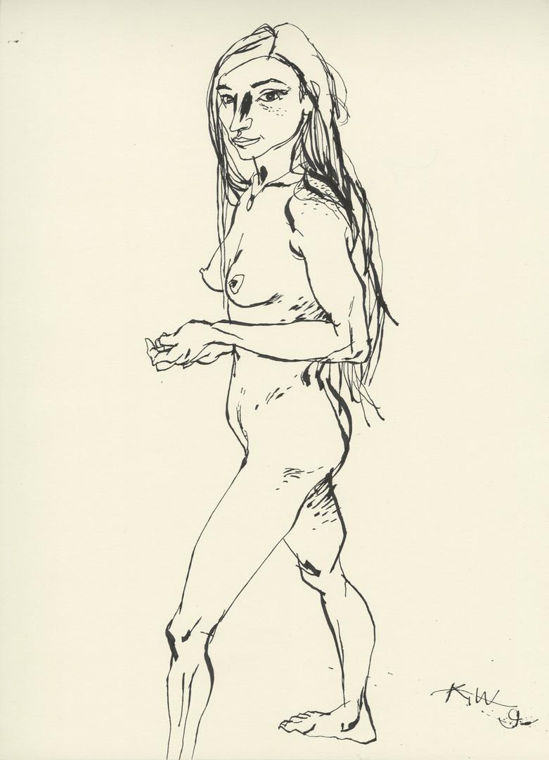 Natalia Standing (Study)