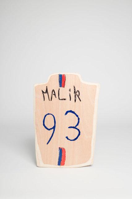 Maillot Malik 93 (dos) - Collège Politzer