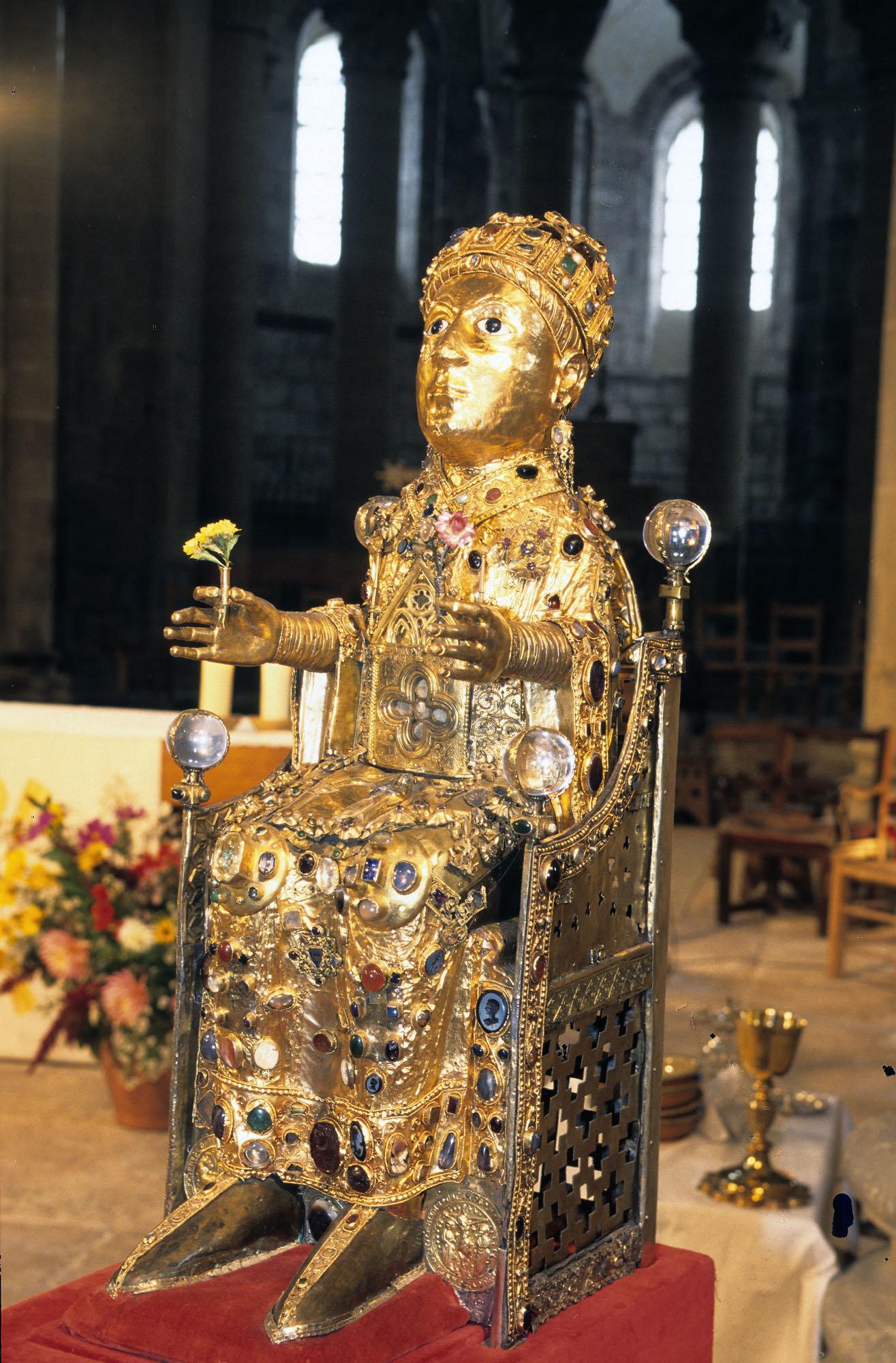 Statue-reliquaire de Sainte-Foy de Conques