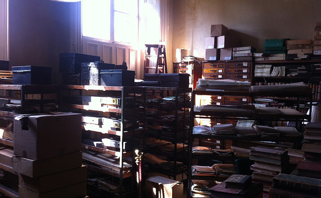 Library back room