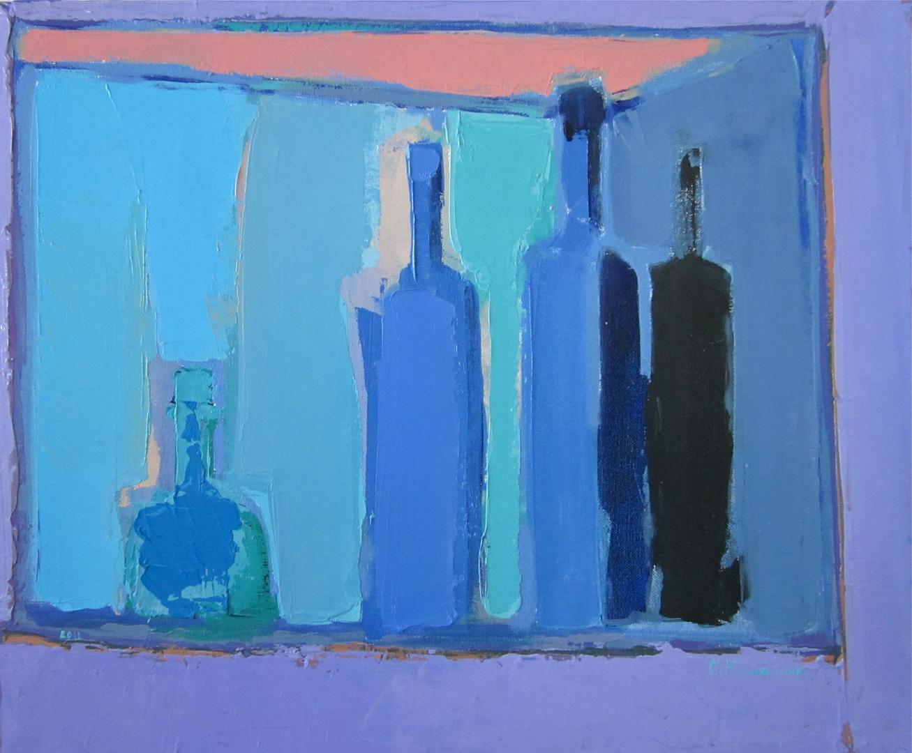 'Silhouette. Bottles'