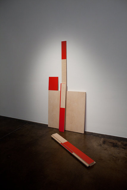 Red Configuration #2, 2009