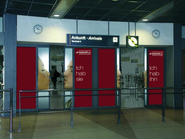 Parship / Flughafen-Promotion