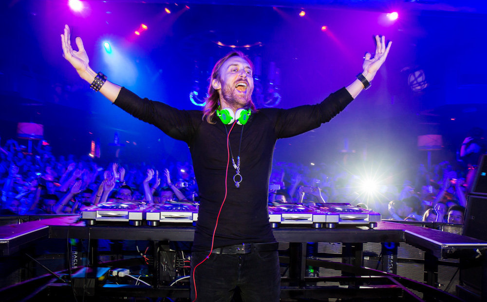 DAVID GUETTA celebrates XS Nightclub Anniversary