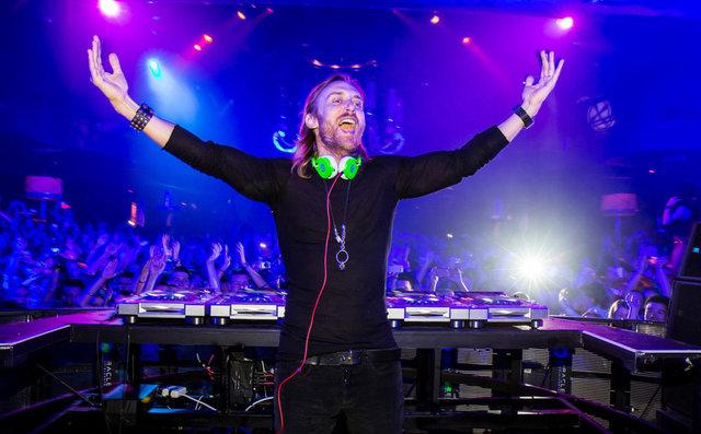 DAVID GUETTA celebrates XS Nightclub Anniversary