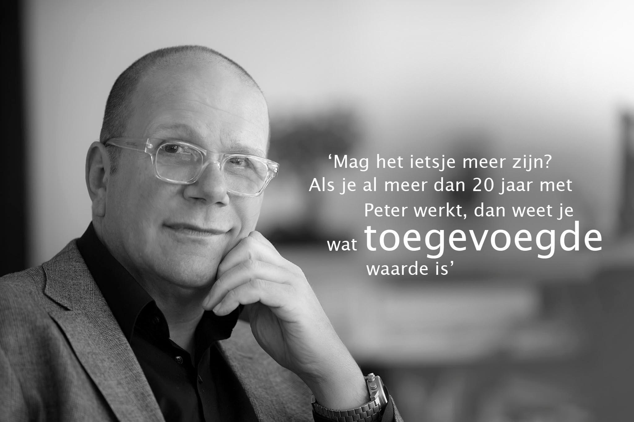 Hans van Niel is eigenaar van VNR communicatie