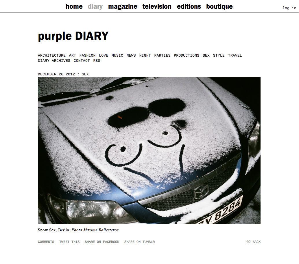 purple DIARY   Snow Sex  Berlin. Photo Maxime.jpg
