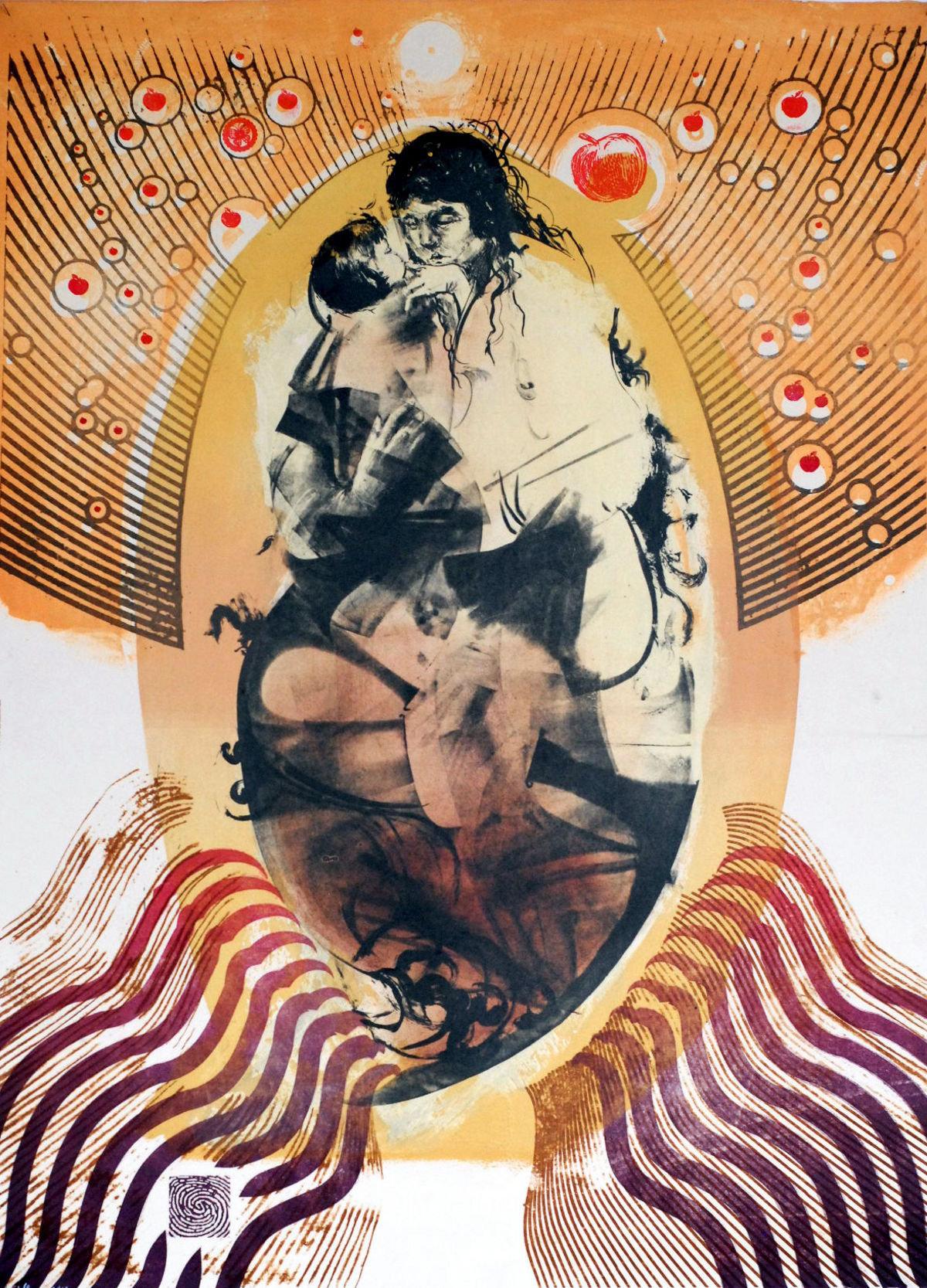 Dziedzictwo, litografia 77x107 2013