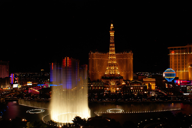 View from the Bellagio, Las Vegas
