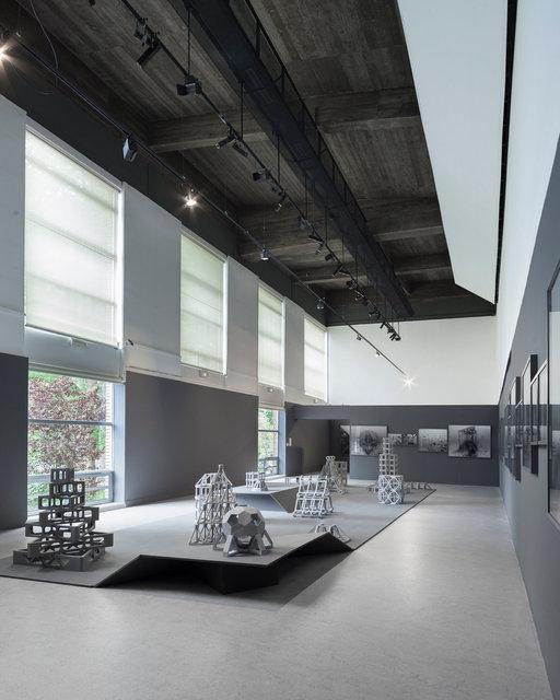 Vue d'exposition, Les villes immergées - Musée des beaux-arts de Calais , 2015