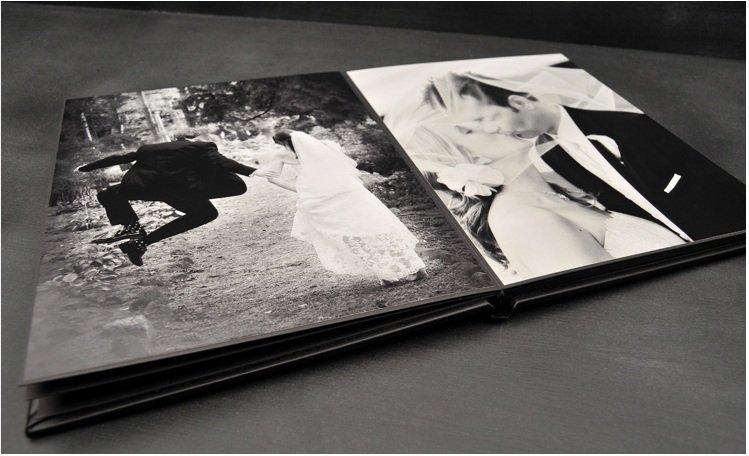 interior leather bound album