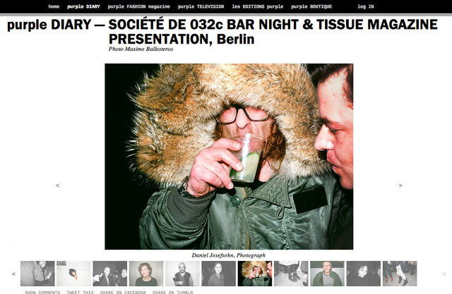 purple DIARY   SOCIÉTÉ DE 032c BAR NIGHT   TISSUE MAGAZINE PRESENTATION  Berlin.png