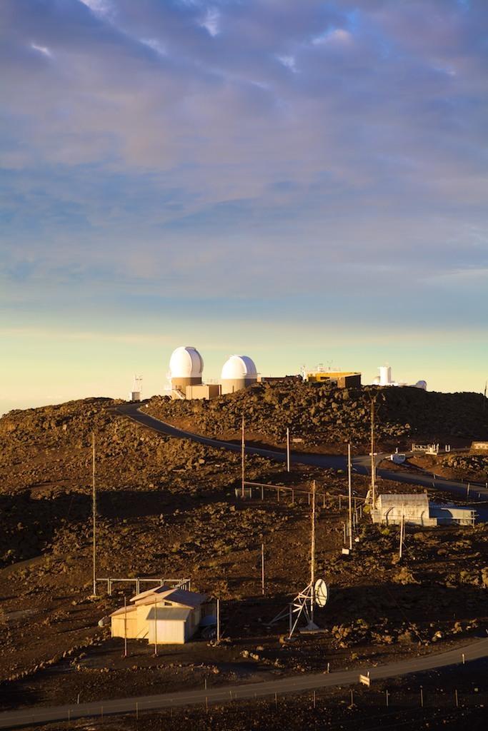 Estação de pesquisa no Vulcão Haleakala