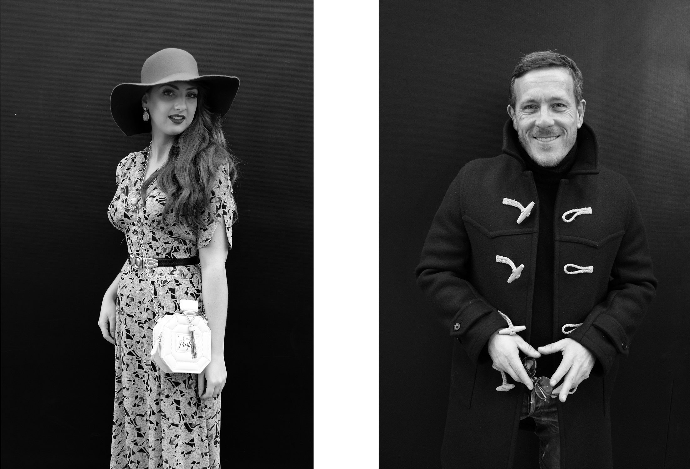 LONDON FASHION WEEK 2014 - FACES
