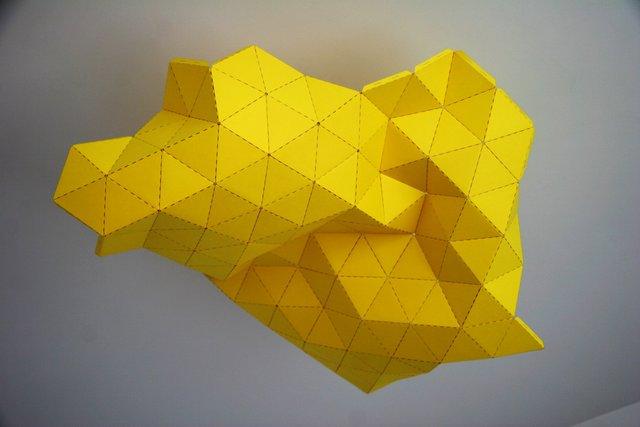 TRIptyque lamp, prototype, 2013