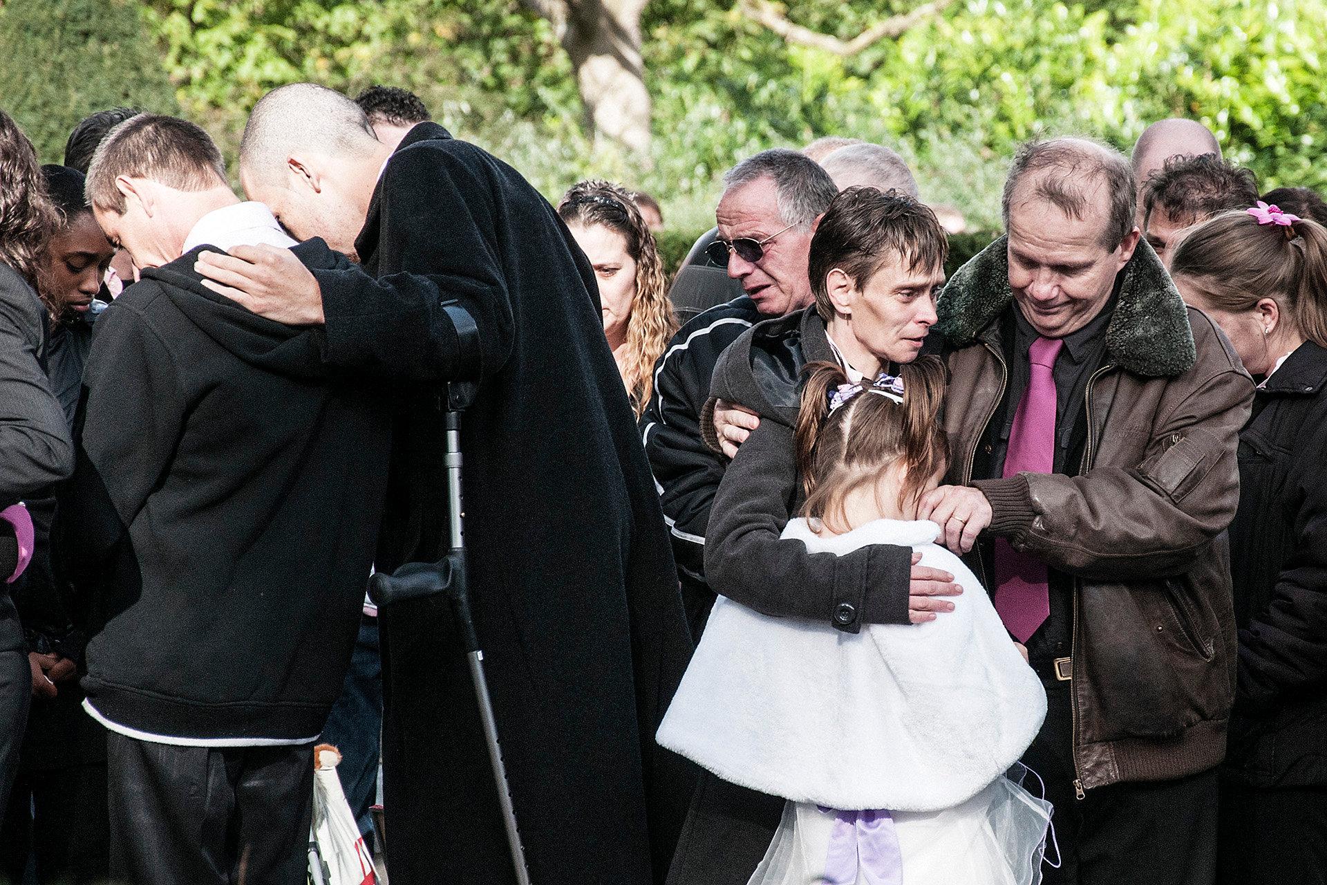 Funeral Jennefer van Oostende, Rotterdam