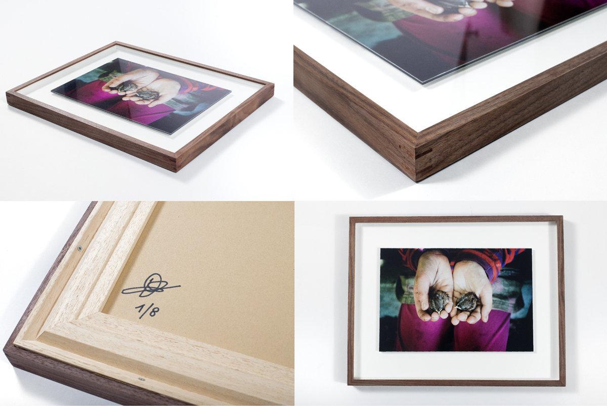 """Birds"" Signed, numbered and framed."