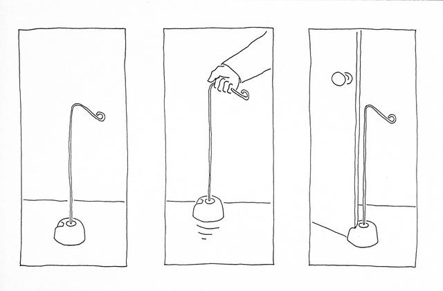 Doorstop - 'how to' drawing.