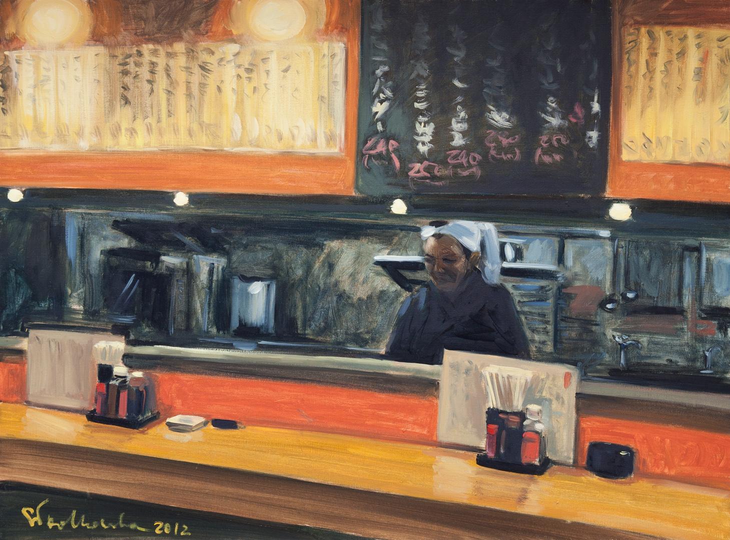 Bar, 73x54, olej płótno 2012