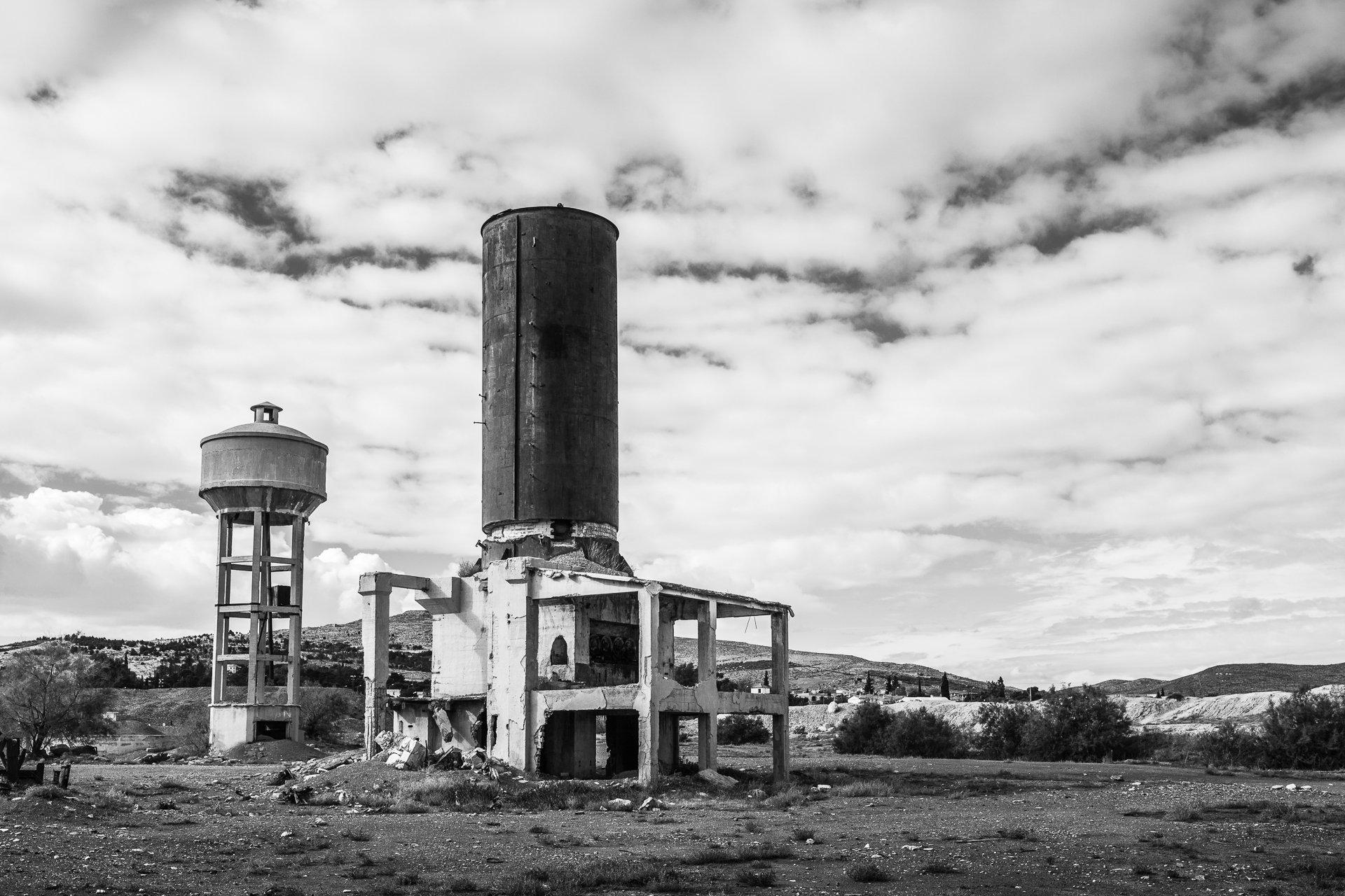 Mine de phosphate désaffectée. Kalâa el Khasba, 2013.