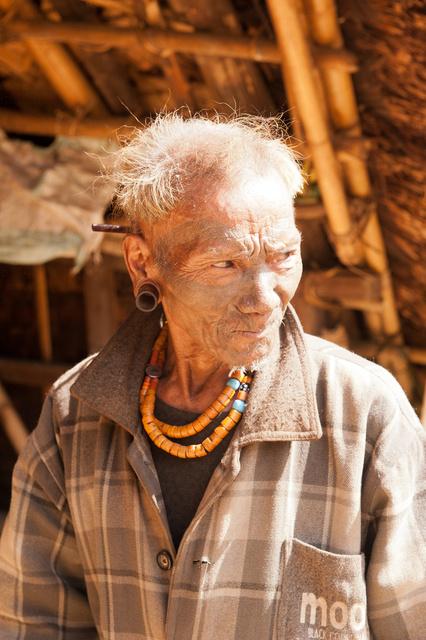 Longwa Tribe, Nagaland, India