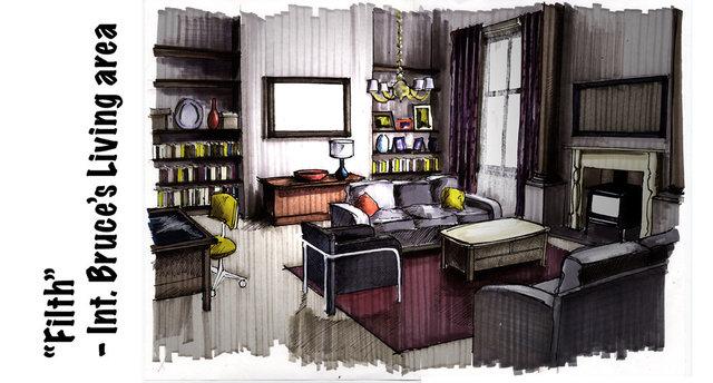 Concept visual - Living Room