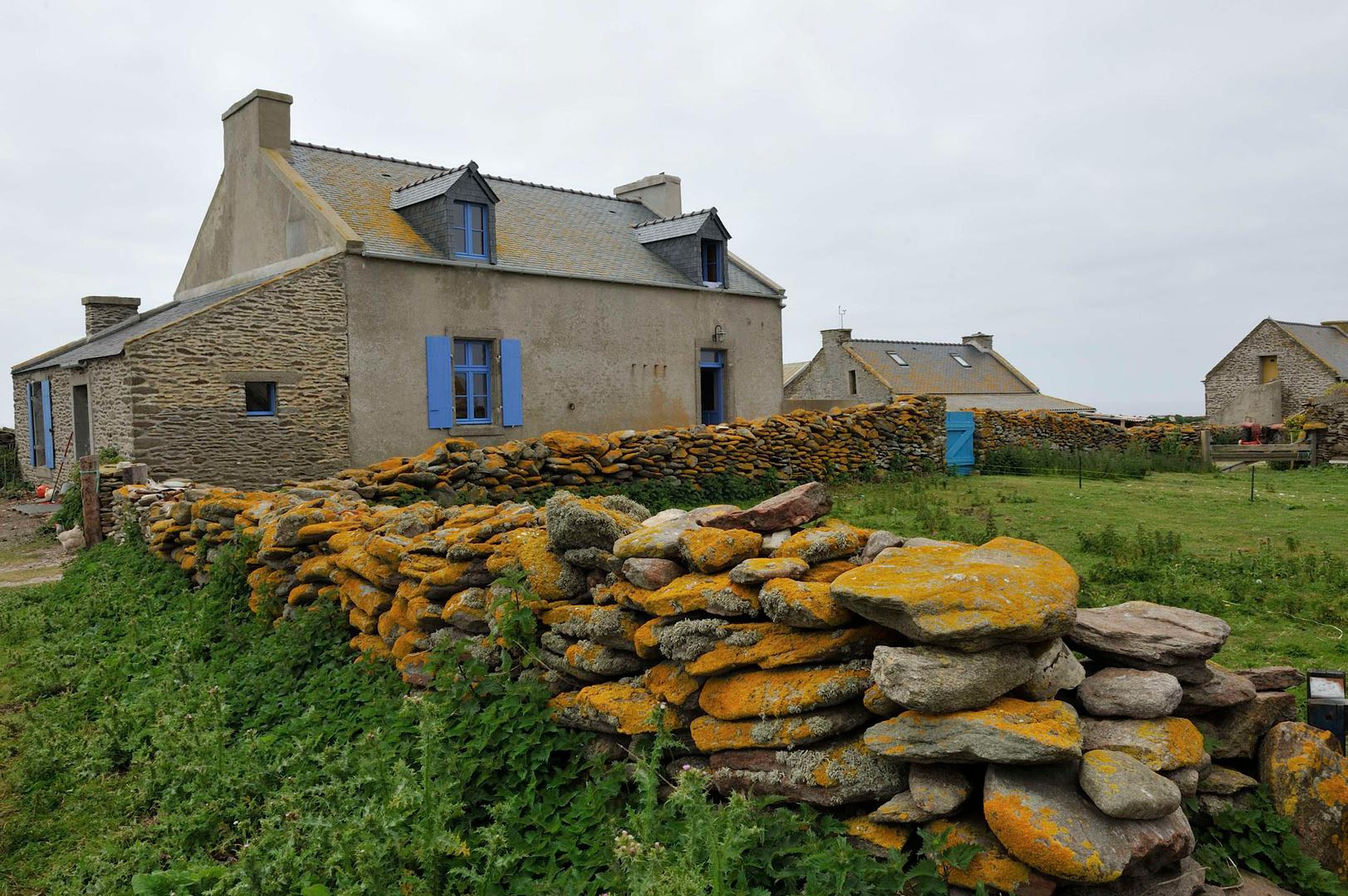 La maison où sont logés les hôtes, une dizaine de personnes au maximum