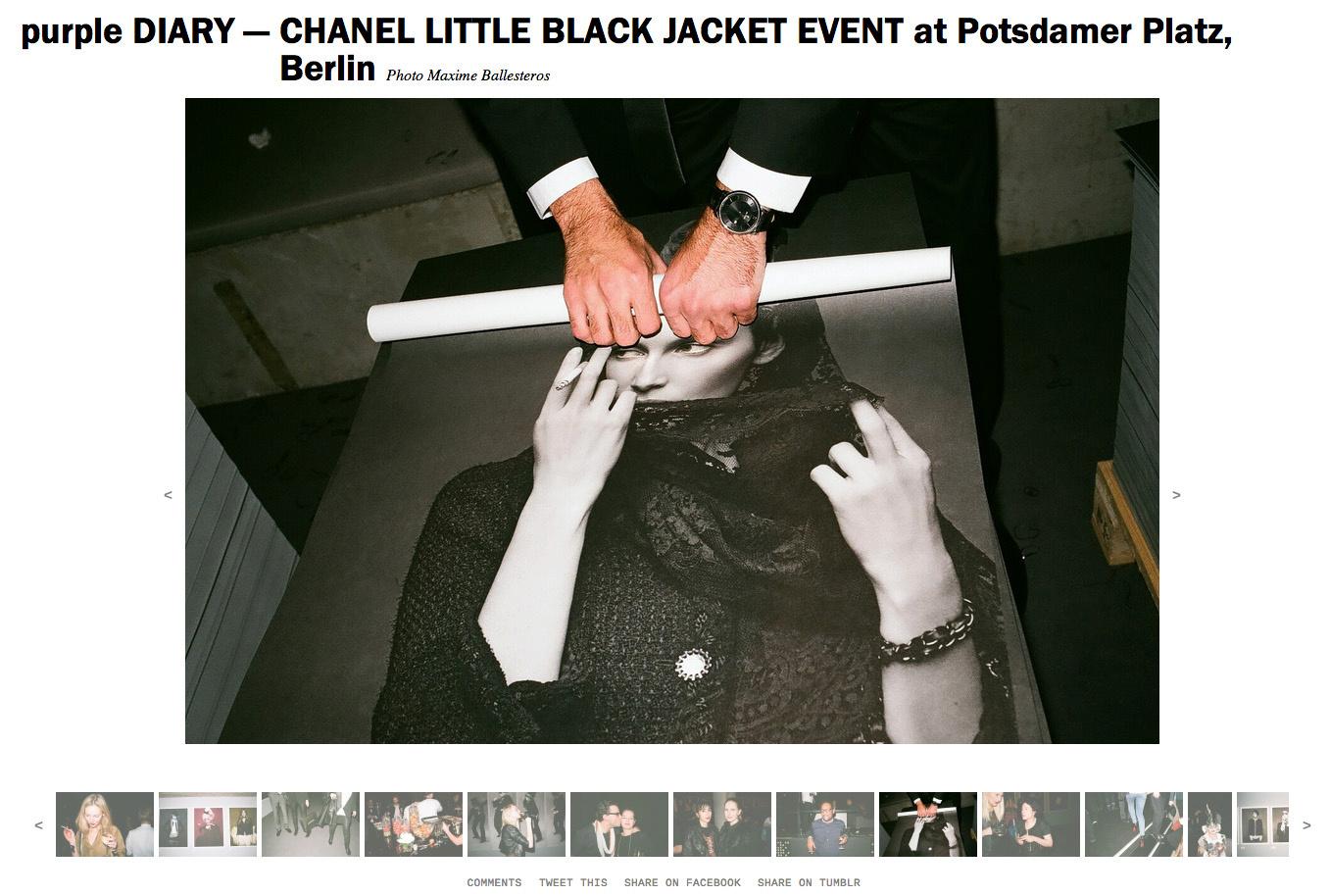 purple DIARY   CHANEL LITTLE BLACK JACKET EVENT at Potsdamer Platz  Berlin.jpg