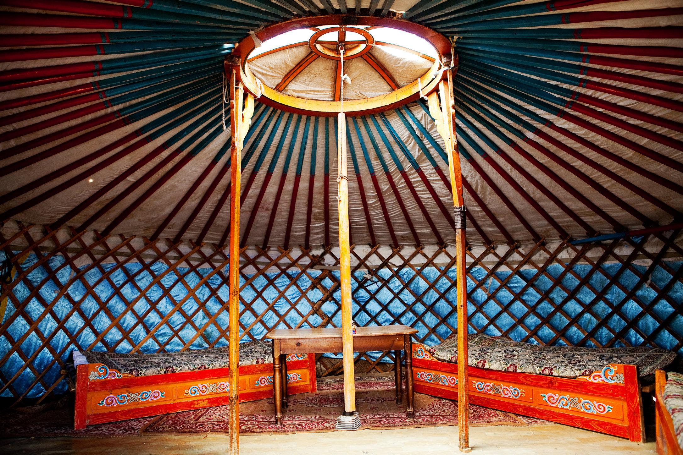 Mongolia Ger Interior
