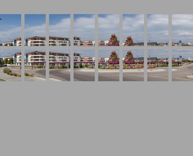 Espace des Foudriots - tirage 2,5 x 6 mètres