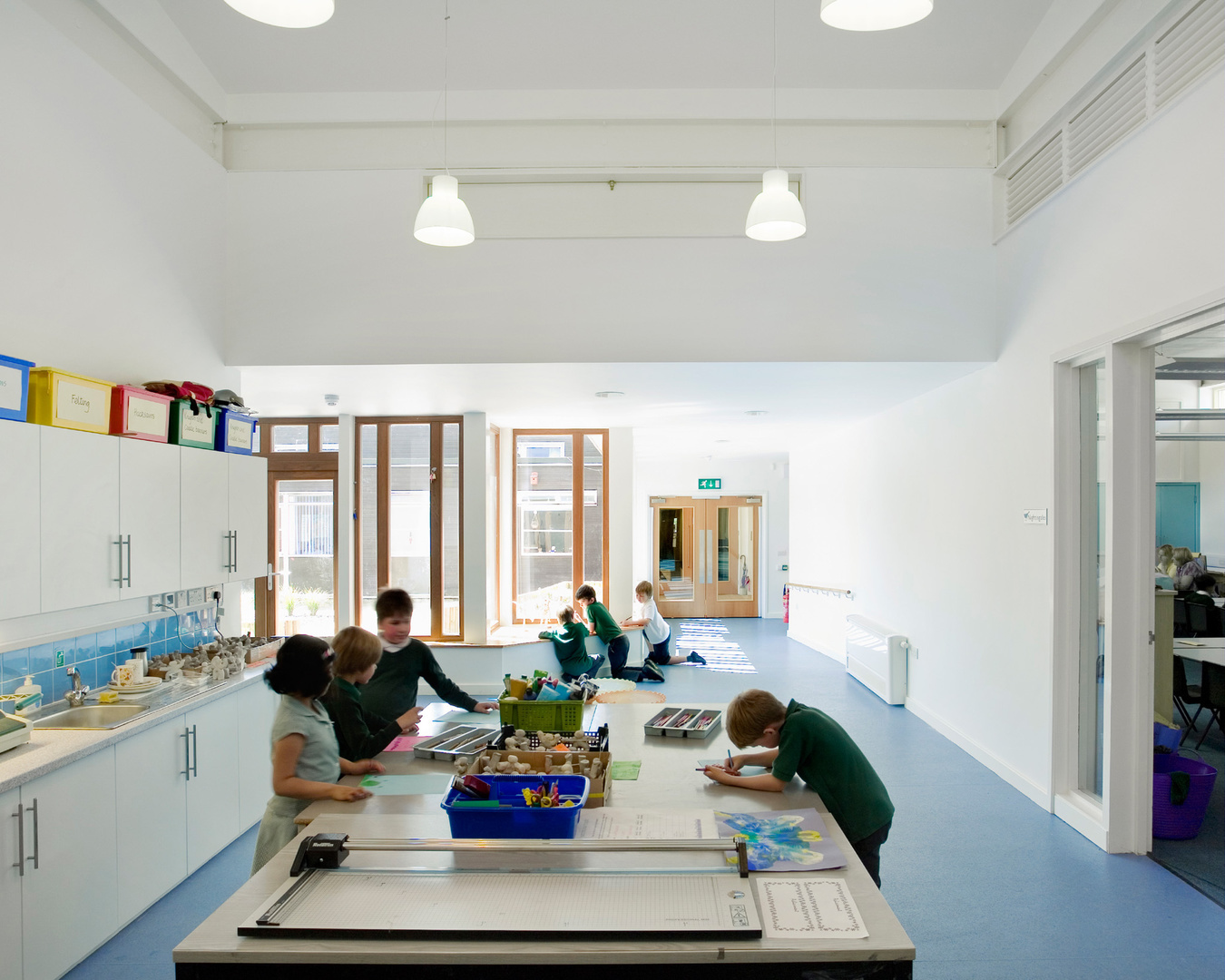 Whiteheath Primary School. The Architects Practice.