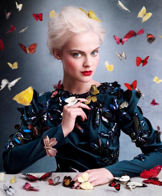 Harper's Bazaar. Viktoriya Sasonkina. September 2013