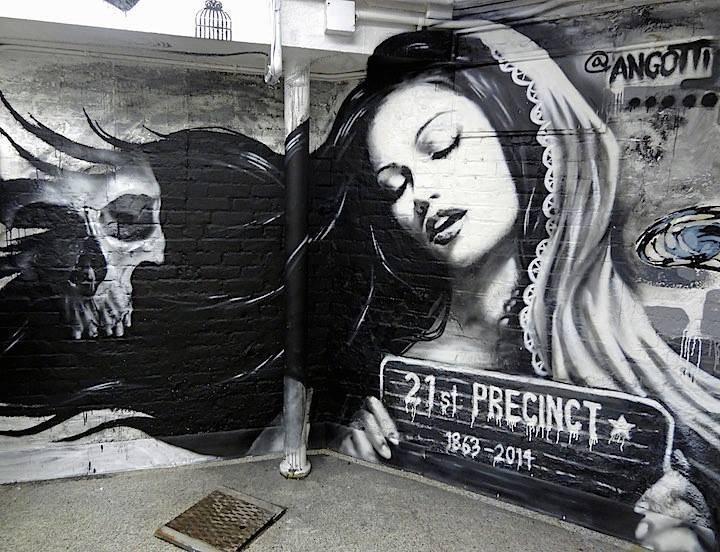 21st Precinct mural