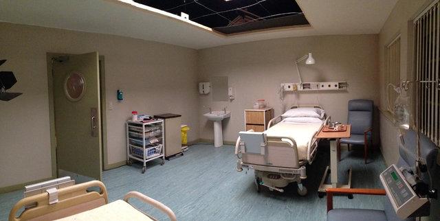 Dressed Studio Set - Hospital 1980's