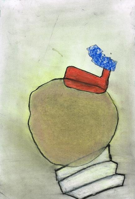 Zonder Titel, 2010  22 x 32,5 cm