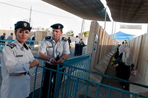 Check point de Bethlehem, dernier vendredi du ramadan