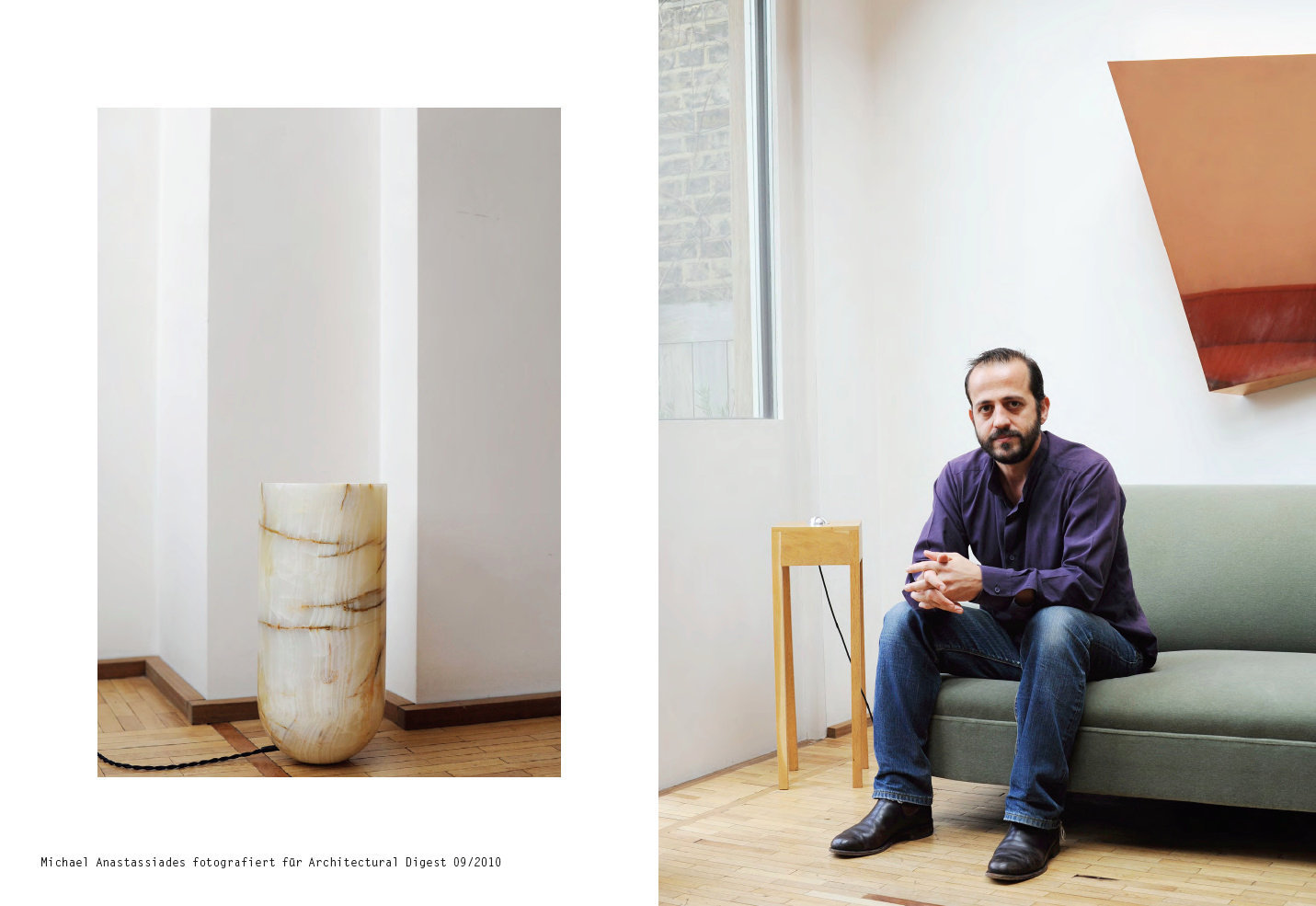 Michael Anastassiades for Architectural Digest