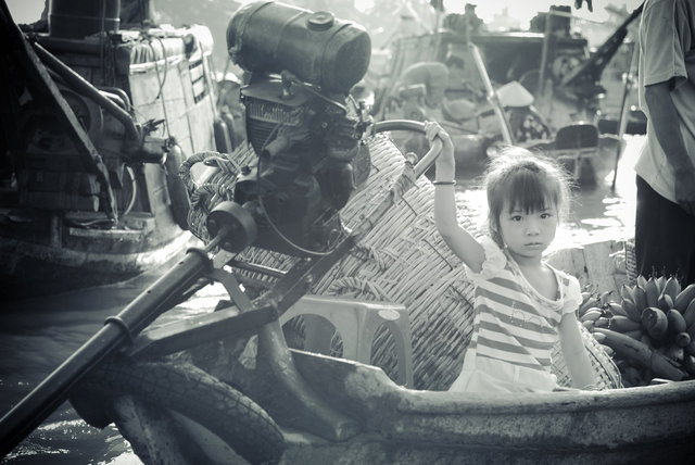 Mekong Delta Floating Market I