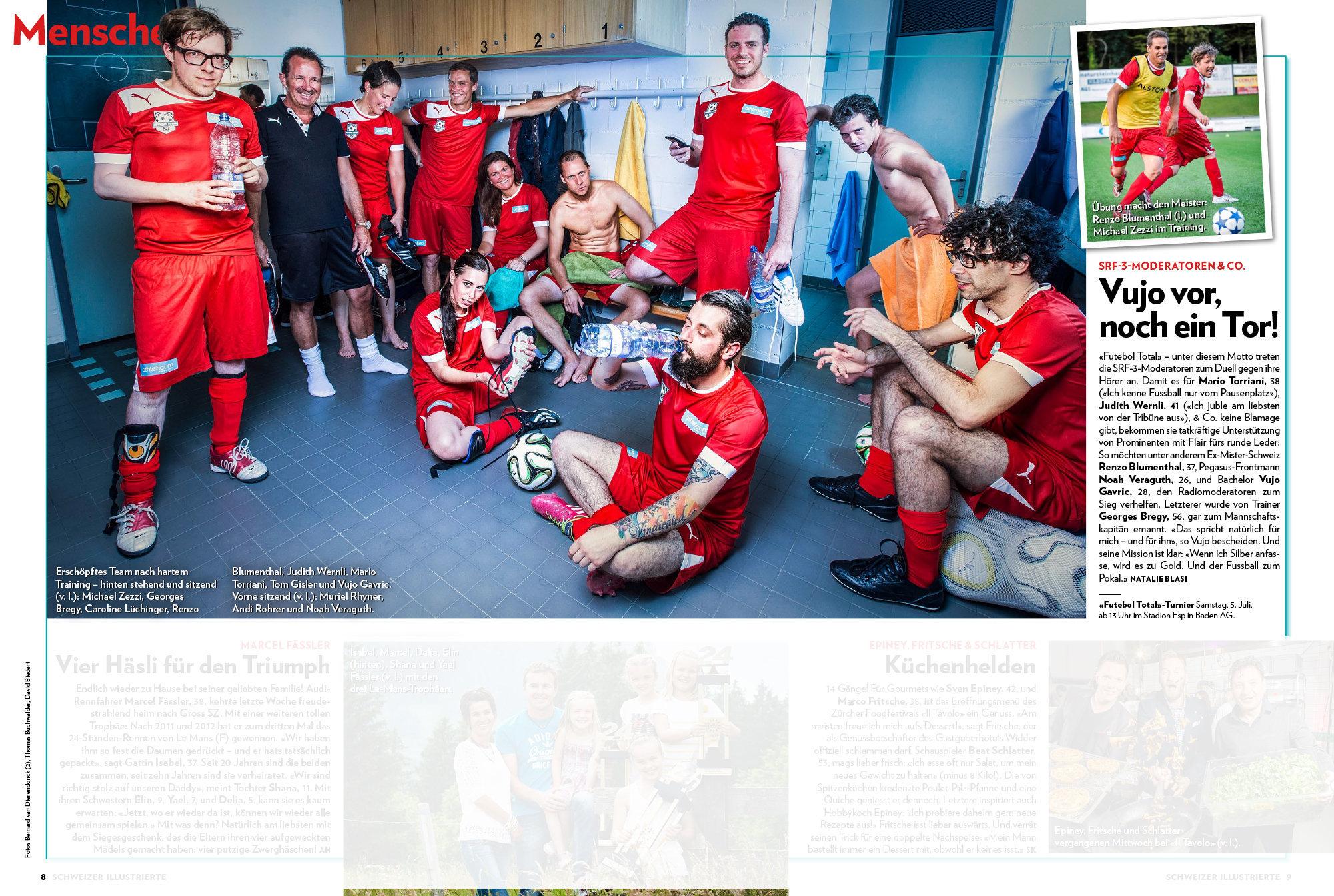 Schweizer Illustrierte 2014