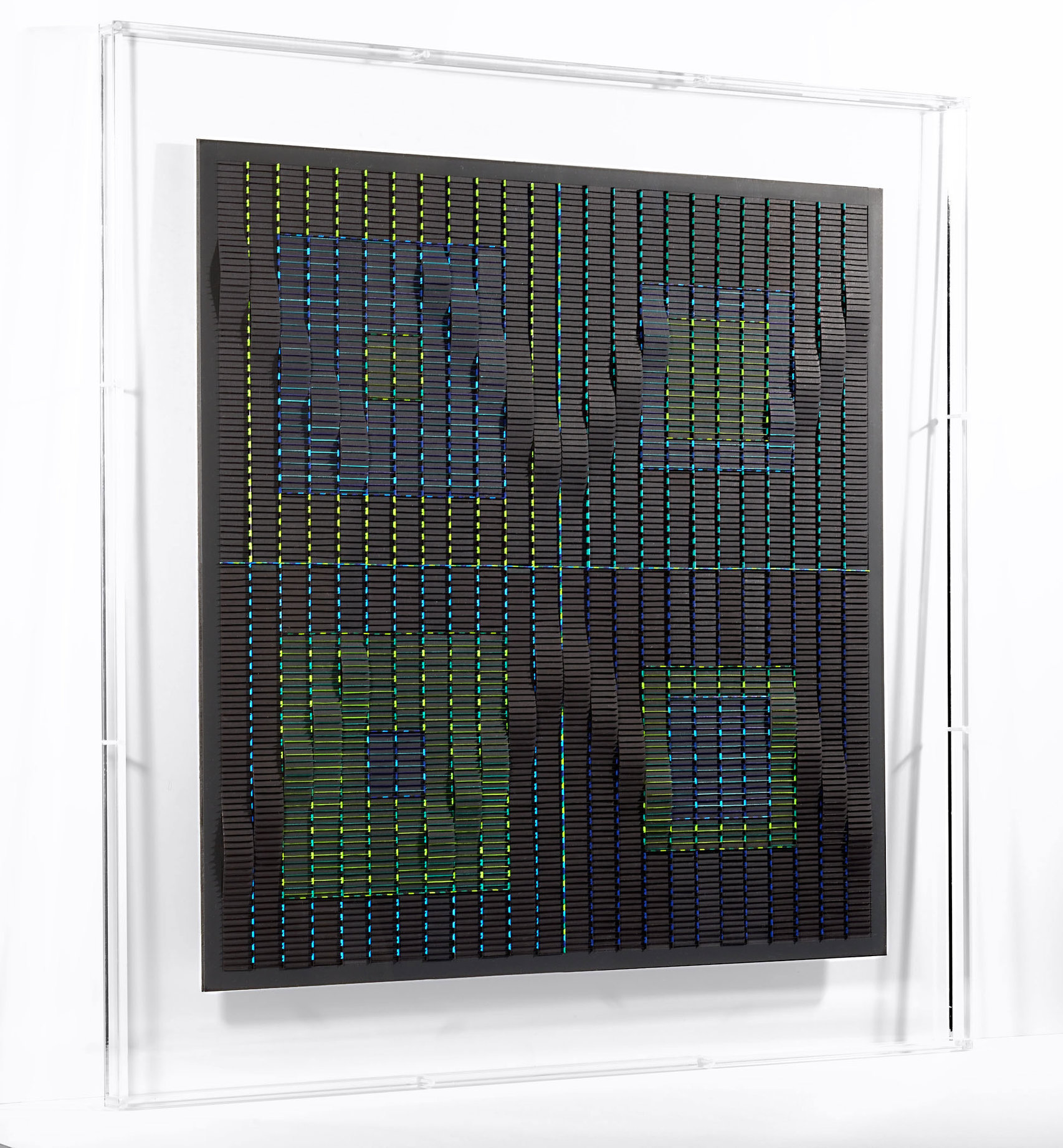 Francoise LUCIANI Ondulations.-vert-et-bleu.100x100-cmjpg.jpg