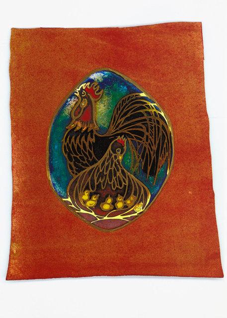 ... so wie eine Henne ihre Küken unter ihre Flügel nimmt.