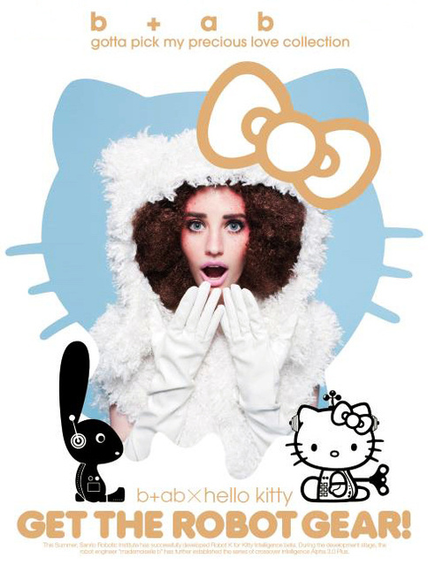 b+ab X hello kitty collection 2011 F/W